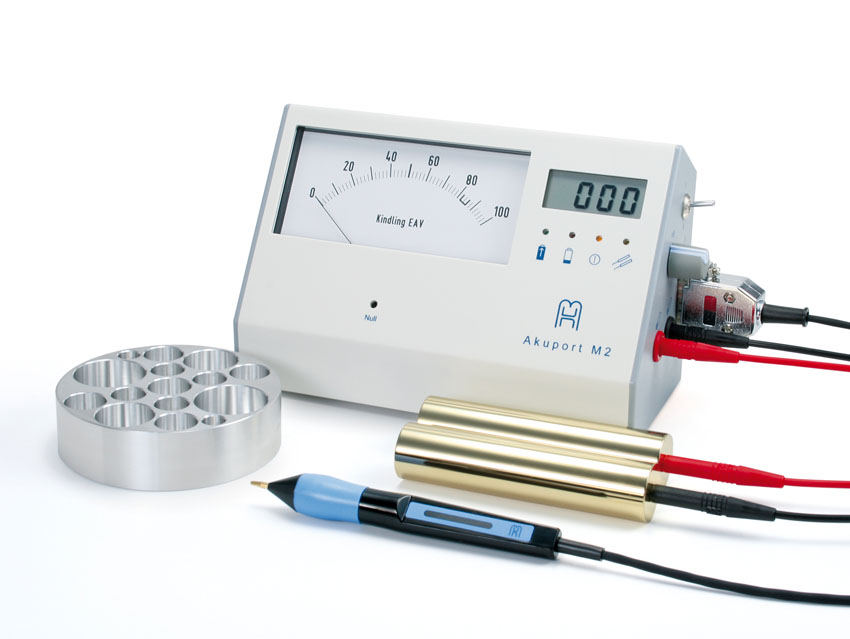 Akuport M2 is an EAV measurement device with excellent accuracy and precision