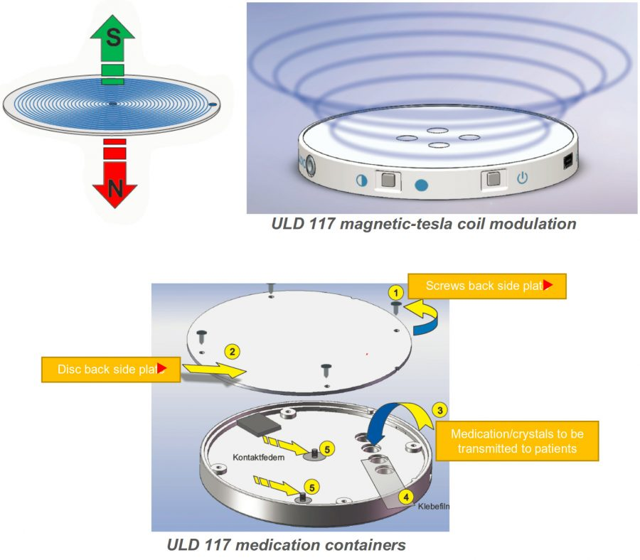 Ultra-Compact Laser Disc (ULD 117) - Magnetic Tesla Soil